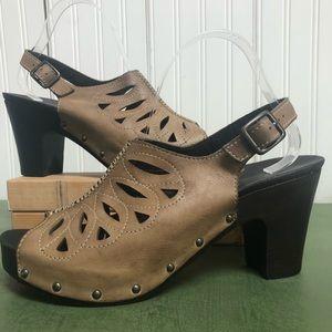 Dansko Rowena Slingback Heeled Sandals